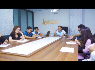Hahalolo leadership team meeting