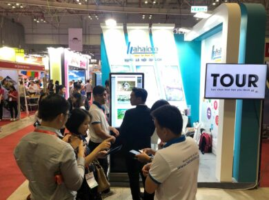 Hahalolo travel social network participates in international travel events