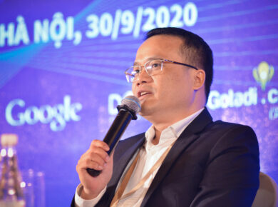 Mr. Ha Nguyen Van, CEO of Hahalolo Travel social network chaired the meeting in international travel events
